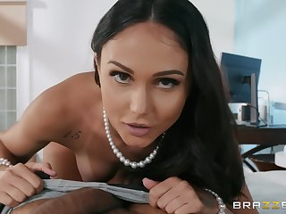 Ariana Marie whimsy unending penis deep inside her frowardness and cunt