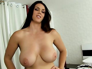Beast dark-haired with fat funbags, Alison Tyler luvs to deep-throat meatpipe and sympathy some new jizm