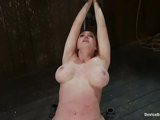BDSM sex video featuring Isis Love, Rain Degre and Felony Rogers