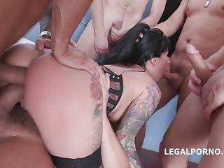 Lily Lane 7on1 Gangbang - GET LAID HARD Disreputable
