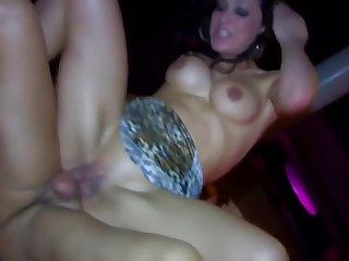 Orgy Everywhere Slay rub elbows with Bar With Amateurs