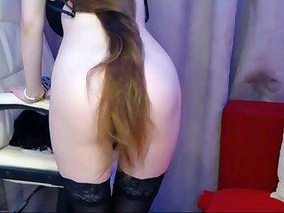 Super Provocative Long Haired Bun Drop Stripte - female
