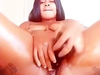 Bbw non-specific solo toying masturbation