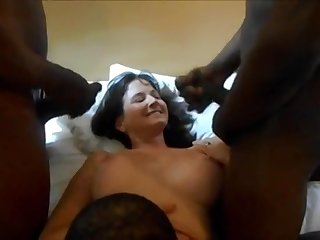 Real Cuckold Wife Big Coloured Dicks Homemade Sex