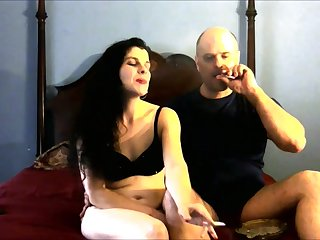Rejected amateur brunette with nice ass loves fingering and enjoys oral sex