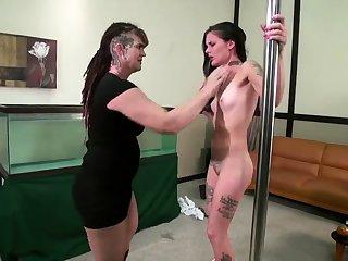 Auntie Resultant bdsm bondage slave femdom domination