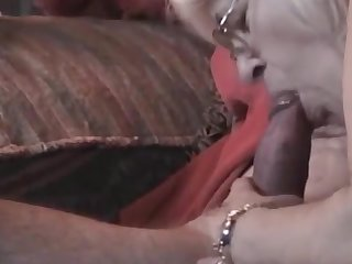 Horny Grandma with glasses very unerring blowjob