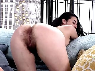 Hairy girl named Wara loves fingering and similar to one another off, it's nice to remark such a simple old bag