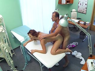 Sex young Ani has never had a doctor's admittance like this in the lead