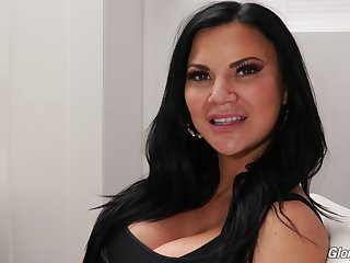 Jasmine Jae's porn interview be expeditious for Dog Fart Screeching and go wool-gathering MILF is so sexy