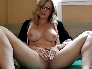 My Horny Step Mom with Fat Tits has a Concealed - Cory Chase