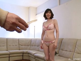 Video of botheration poking with making love toys for amateur Japanese Takeuchi Rie