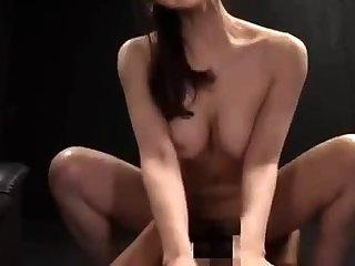 Asian pornstar banging two uninspiring bodies Asian Dispose Hardcore
