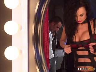 Hardcore FFM threesome on every side Alektra Erotic and cougar Nikki Benz