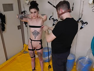 Dirty tattooed slut Lydia Black enjoys gross ready-to-eat like a slave