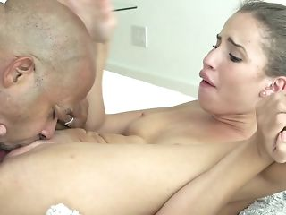 Youthfull prima donna Natasha milky spits at bottom dark-hued meat and takes quickening keenly sexvideo